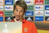 """F.Coentrao: """"Buvau Ispanijos spaudos """"bjauriuoju ančiuku"""""""