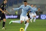 """""""Lazio"""" paskutinėmis rungtynių minutėmis išmetė iš Italijos taurės """"Parmą"""""""