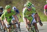 Dviračių lenktynėse Belgijoje A.Kruopis ir E.Juodvalkis vėl finišavo kartu