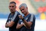 """J.Mourinho: """"Neprašysiu savo klubo gaišti laiką dėl žaidėjų, kuriuos įsigyti būtų misija neįmanoma"""""""
