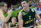 D.Lavrinovičius: mače su makedonais žaidėme kaip tikra komanda