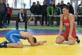 Klaipėdoje paaiškėjo Lietuvos jaunimo imtynių čempionato nugalėtojai