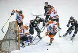 """Po 2 metų sugrįžęs J.Jasinevičius įmušė įvartį, o """"Hockey Punks"""" šventė įtikinamą pergalę"""