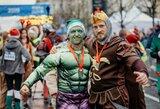 Didžiausias kalėdinis karnavalas Vilniuje – į kalėdinį bėgimą susirinko beveik 4 tūkst. bėgikų