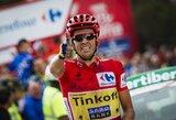 """Rimtas smūgis varžovams: A.Contadoras įspūdingai laimėjo """"Vuelta a Espana"""" lenktynių etapą"""