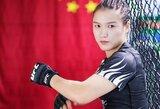 UFC čempionė iš Kinijos W.Zhang buvo nepatenkinta J.Jedrzejczyk juoku apie koronavirusą
