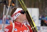 T.Kaukėnas iškovojo vietą pasaulio biatlono čempionato persekiojimo lenktynėse