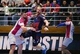 """J.Truchanovičius liko be įvarčių, o """"HB Montpellier"""" pralaimėjo Čempionų lygoje"""