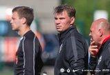 """FK """"Vilniaus"""" vyr. treneris I.Morinas prieš kovą su """"Šiauliais"""": """"Neturime teisės sustoti"""""""