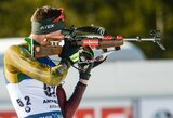 Lietuvos biatlono rinktinės lyderiai šaudė pro šalį, pergale džiaugėsi švedai