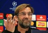 """J.Kloppas: """"Gerai, kad turiu laiko pasiruošti akistatai su L.Messi"""""""