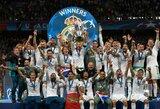 """Europos karaliai: fantastiško G.Bale'o įvarčio dėka """"Real"""" trečią kartą iš eilės triumfavo Čempionų lygoje"""