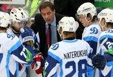 """Gausiai žiūrovų palaikomas Minsko """"Dinamo"""" KHL rungtynėse atsilaikė prieš """"Atlant"""" klubą"""
