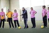 """Futboliuko"" universitete – septintoji pedagogų laida"