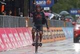 """12-ajame """"Giro d'Italia"""" etape – įspūdingas ekvadoriečio pasirodymas"""