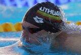 Atvirajame Latvijos plaukimo čempionate – dvi G.Titenio pergalės