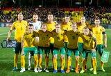 Paskelbta Lietuvos futbolo rinktinės sudėtis rungtynėms su Portugalija ir Naująja Zelandija