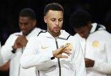 """""""Warriors"""" atsiėmė stilingus NBA čempionų žiedus"""