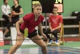 Lietuvos badmintonininkai baigė savo pasirodymus Latvijoje