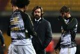 """Du """"Juventus"""" žaidėjai nepatenkinti A.Pirlo darbo metodais"""