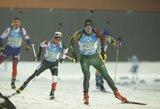 Po ilgos pertraukos šalies biatlono čempionatas vyko Lietuvoje: triumfavo V.Strolia ir G.Leščinskaitė
