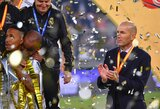 """Visus 9 finalus su """"Real"""" laimėjęs Z.Zidane'as: """"Iškovoti trofėjų niekada nėra lengva"""""""