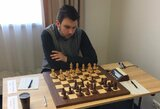 Lietuvos vyrų šachmatų rinktinė olimpiadoje nenusileido norvegams