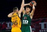 """19 taškų surinkęs R.Giedraitis svariai prisidėjo prie """"Baskonia"""" pergalės"""