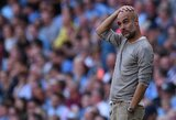 """P.Guardiola stebėjosi auklėtinių pelnytais 8 įvarčiais: """"Tai keista ir nenormalu"""""""