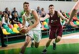 Lietuvos jaunių krepšinio rinktinė dar kartą įveikė latvius