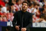 """D.Simeone pergalingo """"Atletico"""" starto nesureikšmina: """"Turime išlikti tylūs ir toliau dirbti"""""""