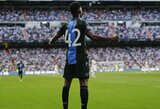 """Pamatykite: Madride dublį prieš """"Real"""" pelnęs E.Dennisas pakartojo C.Ronaldo šventimo būdą"""