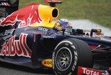 S.Vettelis liko patenkintas savo bolidu