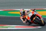 """D.Pedrosa Katalonijos GP lenktynes pradės iš """"pole"""" pozicijos, sezono lyderiai nežibėjo"""