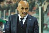 """L.Spalletti: """"Inter"""" žaidėjai ne tie, kurie pralaimėjo 1:3, o tie, kurie per 17 rungtynių surinko 40 taškų"""""""