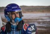 Prieš startą Dakare F.Alonso pirmą kartą tapo ralio lenktynių prizininku