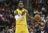 """""""Lakers"""" su L.Jamesu nustelbė J.Hardeno ir R.Westbrooko duetą"""