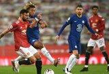 """""""Premier"""" lygos rungtynės tarp """"Man Utd"""" ir """"Chelsea"""" baigėsi be įvarčių"""