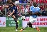 """Lazio"" užleido antrąją poziciją"