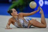 Pasaulio meninės gimnastikos čempionate lietuvės buvo toli nuo lyderių