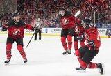 Dramatiškoje finalo pabaigoje Kanada palaužė švedus ir iškovojo pasaulio elitinio diviziono aukso medalius