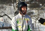 """Snieglenčių čempionas A.Arlauskas: """"Čiuožti nuo kalno gali ir vos vaikščioti pradėjęs vaikas"""""""