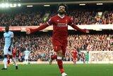 """M.Salah: """"Rekordai yra puiku, tačiau man svarbiausia – iškovoti """"Premier"""" lygos titulą"""""""
