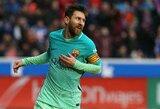 "Vėlyvas L.Messi įvartis leido ""Barcelona"" klubui triumfuoti prieš ""Atletico"""