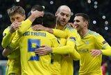 """Jauniesiems futbolininkams pasirodyti šansą suteikęs """"Man United"""" neatsilaikė prieš """"Astana"""" klubą"""