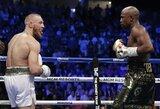 """C.McGregoras: """"Noriu revanšo prieš F.Mayweatherį, nes žinau, kad jį nugalėčiau"""""""
