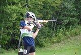 Sėkmingas jaunųjų Lietuvos biatlonininkių pasirodymas Šiaurės Amerikos vasaros čempionate