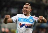 """Prancūzijos """"Ligue 1"""": M.Balotelli dublis, dramatiškos lygiosios bei """"Marseille"""" pergalė"""