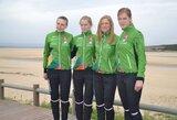 Lietuvos orientacininkės pasaulio čempionato estafetėje pasiekė aukštą rezultatą