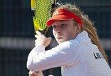 J.Eidukonytė Lenkijoje papildė savo WTA vienetų reitingo taškų kraitį (papildyta)